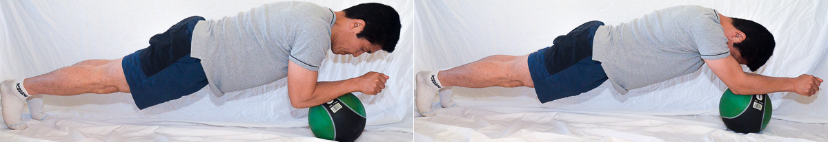 Advanced Planks: Correct your excessive low back arch posture
