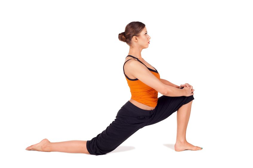 Lunge Pose: Correct Excessive Low Back Arch