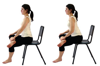 Sciatica: Seated Piriformis Stretch