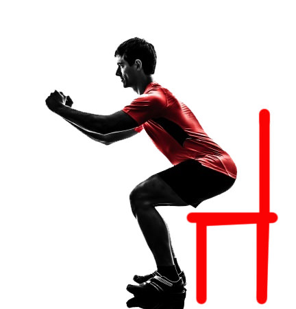 How to Improve Posture-Chair Squats: Toronto Chiropractic Clinic