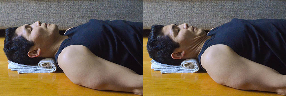 Get Rid Of Your Neck Pain With These Neck Exercises- Toronto Downtown Chiropractor-Deep Neck Flexors Chin Nod