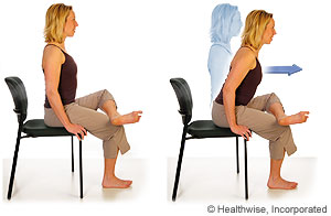 Piriformis stretch seated: For Piriformis Syndrome - Toronto Downtown Chiropractor