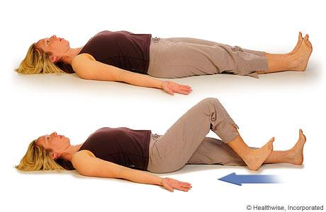 Heel Slides For Knee Osteoarthritis | Dr Ken Nakamura Best Toronto Chiropractor